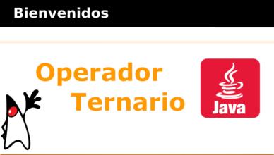 Operador Ternario